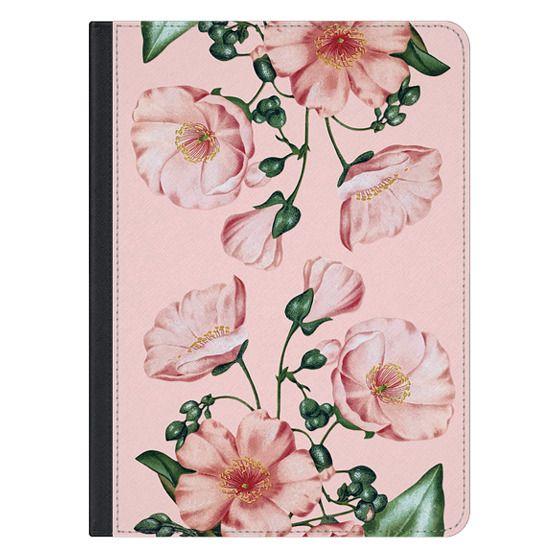 12.9-inch iPad Pro Covers - Pink Calandrinia