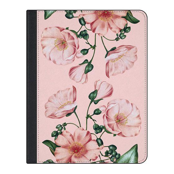 11-inch iPad Pro Covers - Pink Calandrinia