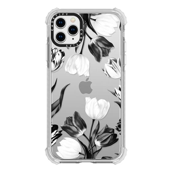 iPhone 11 Pro Max Cases - Bed of Tulips (Clear)