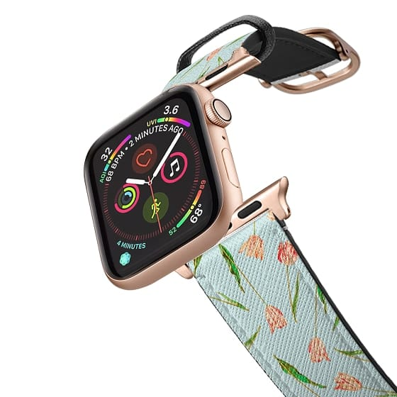 Apple Watch 42mm Bands - Pink Tulips
