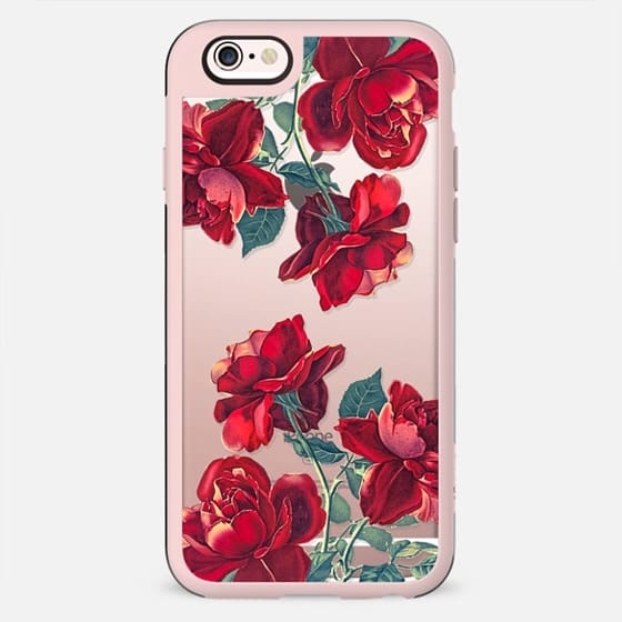 Red Roses (Transparent) - New Standard Case