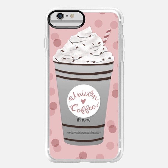 iPhone 6 Plus Case - Unicorn Coffee