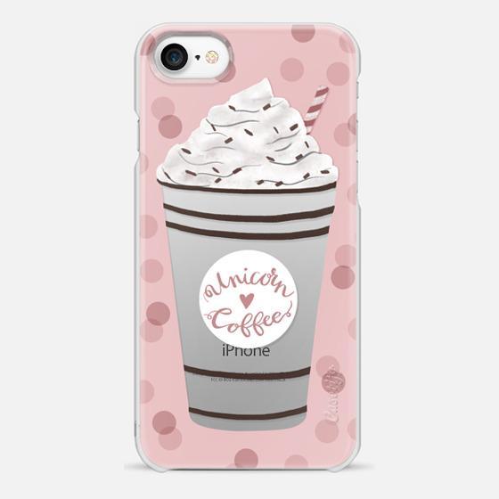 iPhone 7 Hülle - Unicorn Coffee