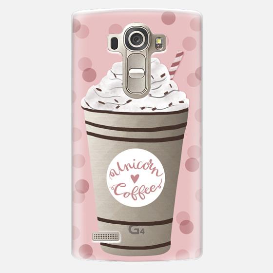 LG G4 Case - Unicorn Coffee