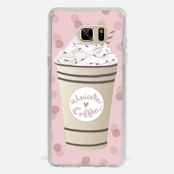 Galaxy Note 7 Case - Unicorn Coffee