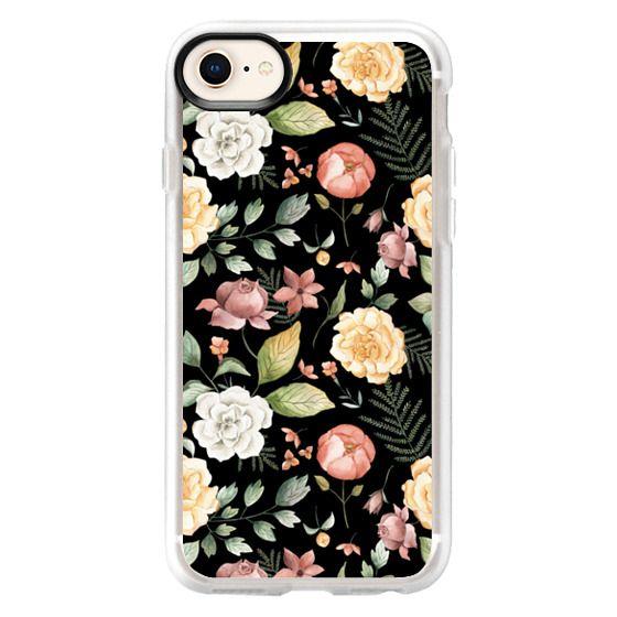 iPhone 6s Cases - Spring Botanicals - Black