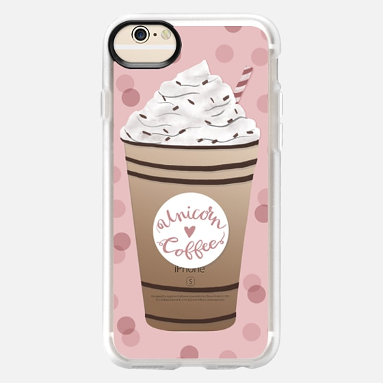 iPhone 6 Case - Unicorn Coffee