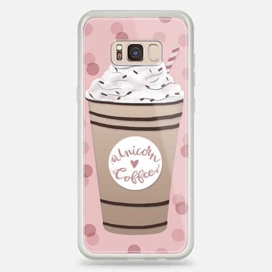 Galaxy S8+ 케이스 - Unicorn Coffee