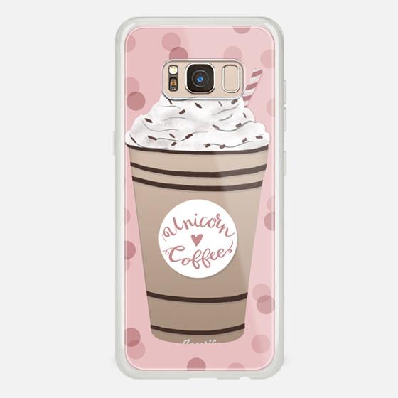 Galaxy S8 Funda - Unicorn Coffee