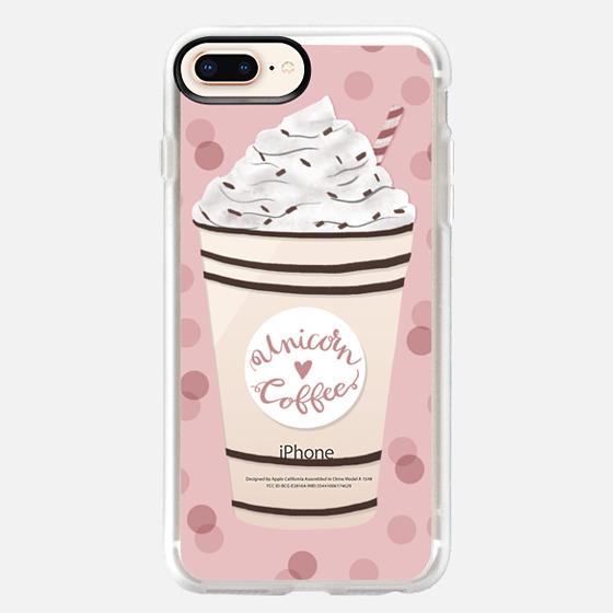 iPhone 8 Plus Case - Unicorn Coffee
