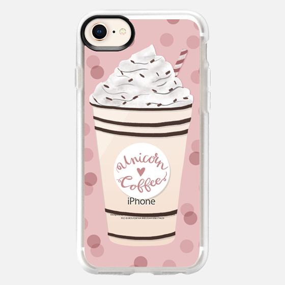 iPhone 8 保護殼 - Unicorn Coffee