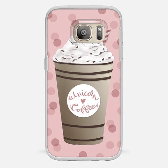 Galaxy S7 保护壳 - Unicorn Coffee