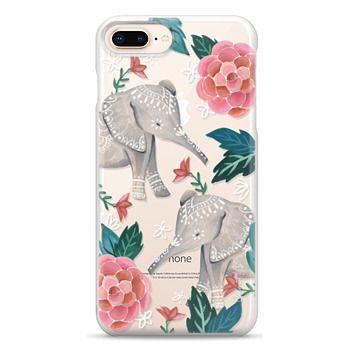 Snap iPhone 8 Plus Case - Animal Soul - Elephant