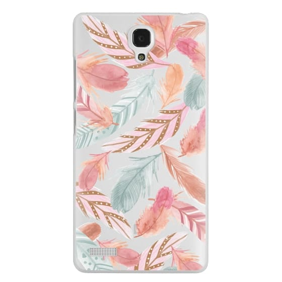 Redmi Note Cases - Boho Feathers