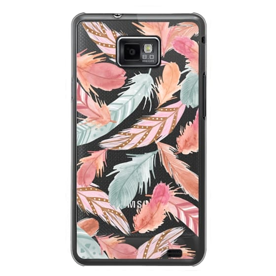 Samsung Galaxy S2 Cases - Boho Feathers
