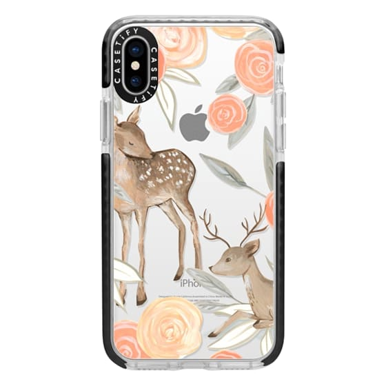 iPhone X Cases - Romantic Deers