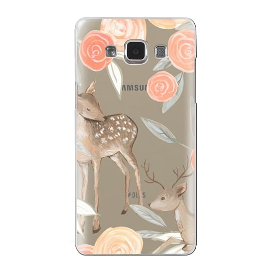 Samsung Galaxy A5 Cases - Romantic Deers