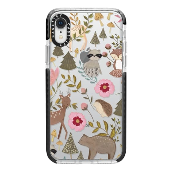 iPhone XR Cases - Woodland
