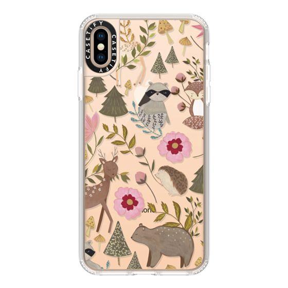 Grip iPhone XS Max Case - Woodland