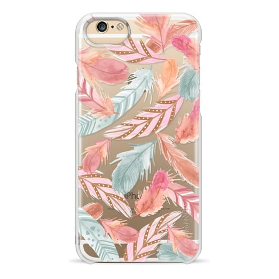 iPhone 6 Cases - Boho Feathers