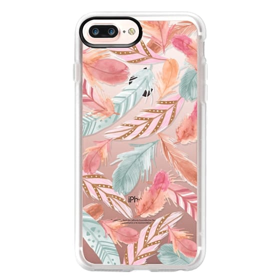 iPhone 4 Cases - Boho Feathers