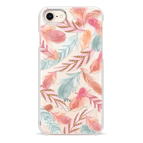 iPhone 8 Cases - Boho Feathers