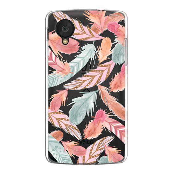 Nexus 5 Cases - Boho Feathers