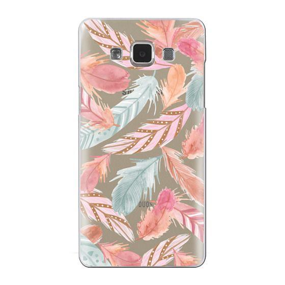 Samsung Galaxy A5 Cases - Boho Feathers