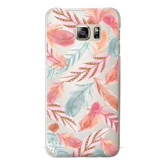 Samsung Galaxy S6 Edge Plus Cases - Boho Feathers