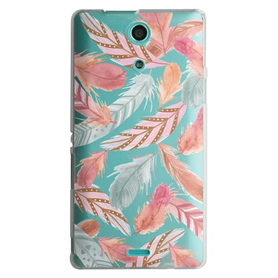 Sony Zr Cases - Boho Feathers
