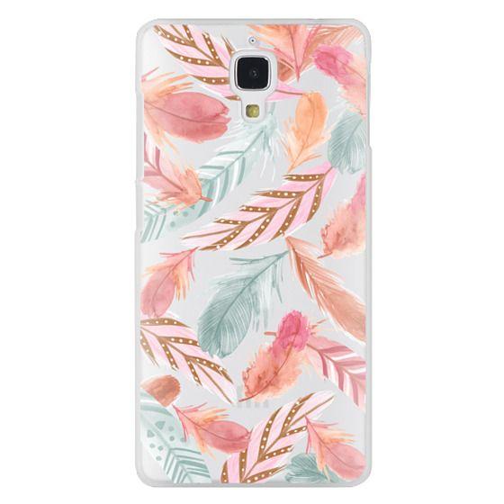 Xiaomi 4 Cases - Boho Feathers