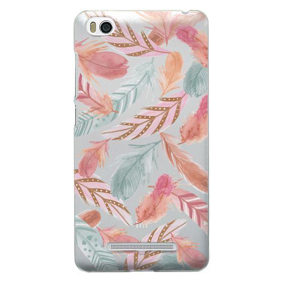 Xiaomi 4i Cases - Boho Feathers