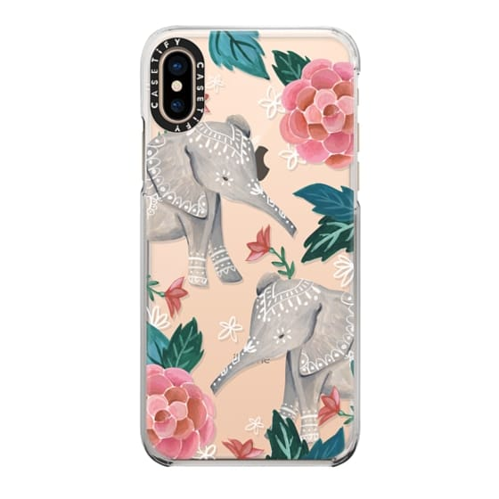 iPhone XS Cases - Animal Soul - Elephant