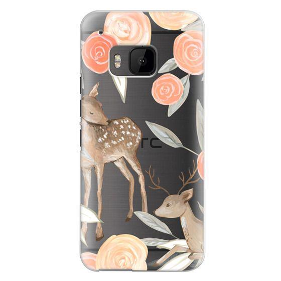Htc One M9 Cases - Romantic Deers