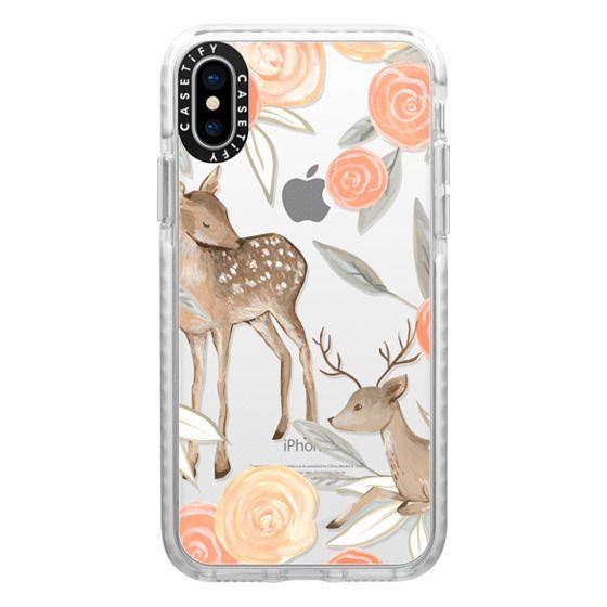 iPhone X Cases - Romantic Deers