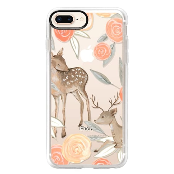 iPhone 8 Plus Cases - Romantic Deers