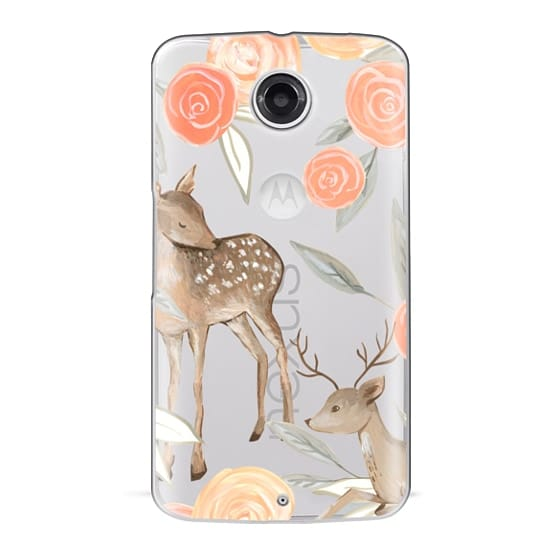 Nexus 6 Cases - Romantic Deers