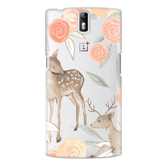 One Plus One Cases - Romantic Deers