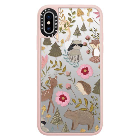 iPhone X Cases - Woodland