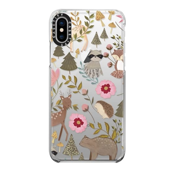 iPhone X Cases - Woodland