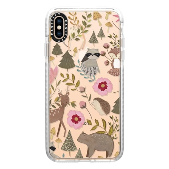 iPhone XS Max Cases - Woodland