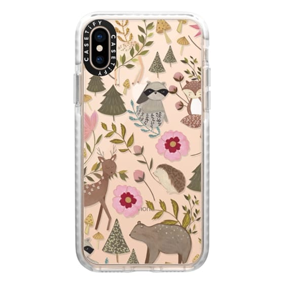 iPhone XS Cases - Woodland
