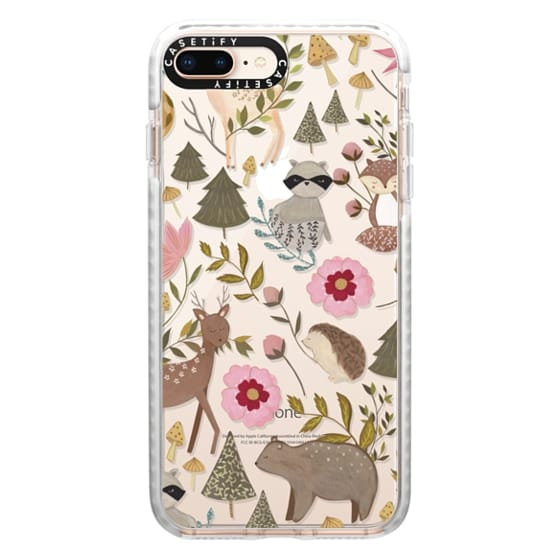 iPhone 8 Plus Cases - Woodland