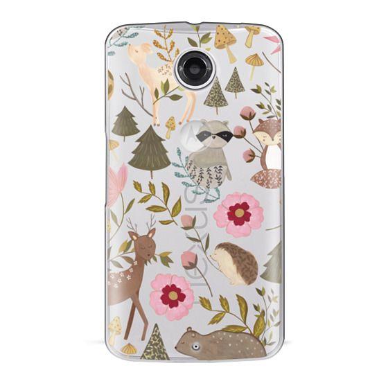 Nexus 6 Cases - Woodland