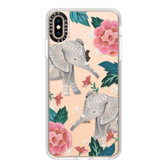 iPhone XS Max Cases - Animal Soul - Elephant