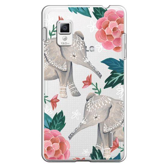 Optimus G Cases - Animal Soul - Elephant