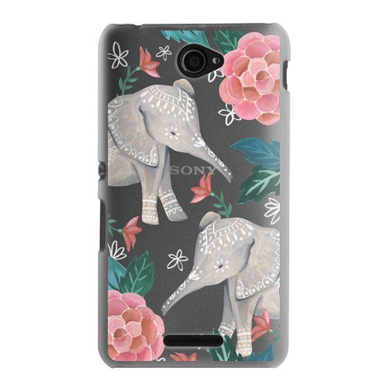 Sony E4 Cases - Animal Soul - Elephant