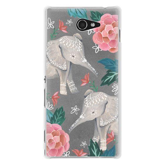 Sony M2 Cases - Animal Soul - Elephant