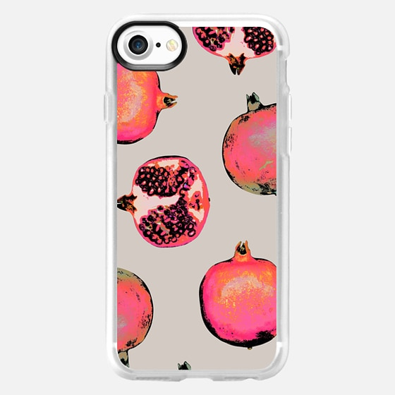 Pomegranate Pattern - Classic Grip Case