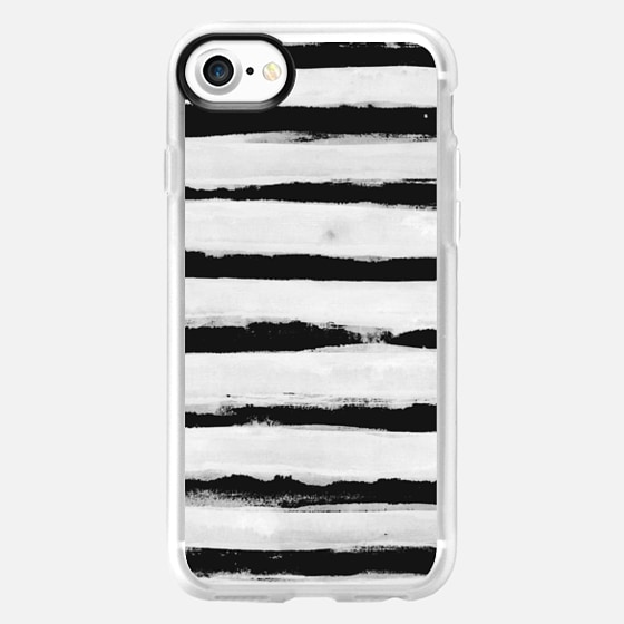 BW Stripes - Classic Grip Case